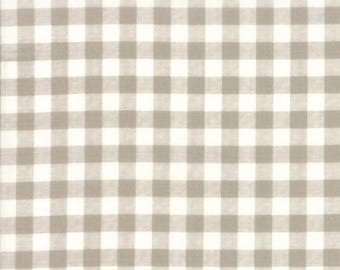 Farmer's Daughter -Gingham Taupe by Vanessa Goertzen of Lella Boutique for Moda, 1/2 yard, 5054 11