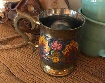 Boho Brass Mug