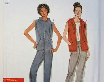 Simplicity 9177 Misses' Jacket Pants & Knit Top Sewing Pattern Sizes 8 - 18 Uncut