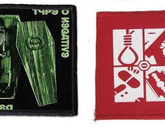 Type o Negative patch [ Aufnäher ] - rare, interesting design!    Free & Quick shipping UK