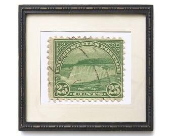 Postage Wall Art: Niagara Falls 1931 Stamp Reproduction