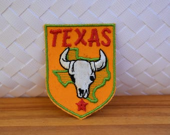 Vintage Texas Travel Patch