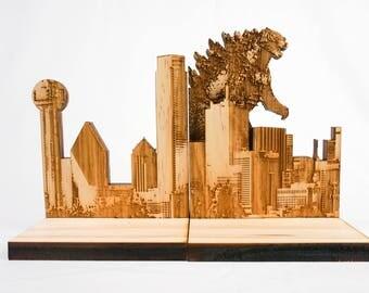 Godzilla Bookends