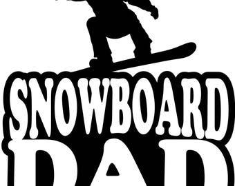 Snowboard Dad Boy Snowboarder T Shirt/ Snowboard Dad Shirt/ Snowboard Dad Clothing/ Snowboard Dad Gift/ Snowboard Dad/ Male Snowboarder