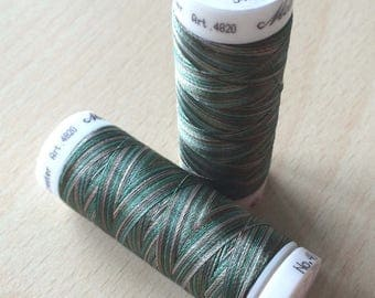 Multi color green 9982 thread