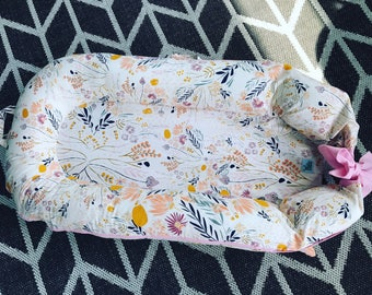 DockATot Covers Deluxe, Deluxe+ COVER Only- Floral, Aztec, Feather, Arrow, Teepee -Multiple Fabric Options-100% cotton-Made in USA