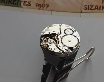 Vintage watch movement ring ring