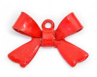 X 1 bow red metal 16mm