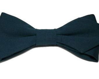 Prussian blue bowtie with sharp edges