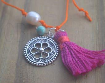 Flower Tassel Bracelet