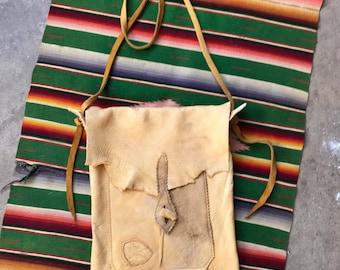 Handmade Deerskin Bag