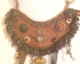 Necklace, Mixed Media