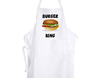 BURGER king apron