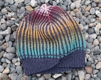 Hat handknit size medium