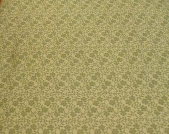 CLEARANCE SALE Supporting Cast by Ro Gregg for Northcott, By the Yard, 44/45 inches Wide, Green Floral Blender