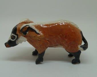 Ceramic Red River Hog