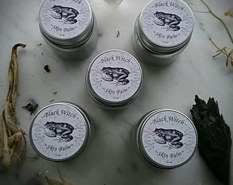 Black Witch Balm~ Skin Care Salve ~ Healers Salve ~ Ointment ~ Herbal Ointment ~  2 oz
