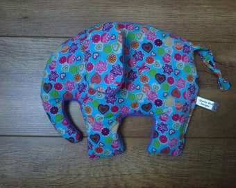 Elephant Wheat Bag, Microwavable Heating Pad, Hottie, Cool Pack