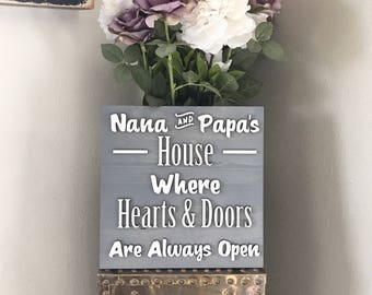 Nana and Papas House Where Hearts and Doors Are Always Open