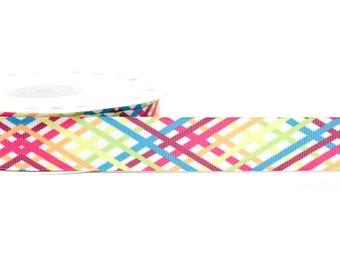 3 M Ribbon 22 mm stripes polyester multicolor