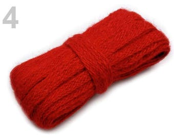 3 M string just flat 11 mm red sisal