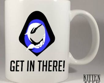 Overwatch | Ana | Get In There! | Nano Boost | Coffee Mug