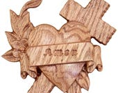 Wood Cross Wall Decor, WO...