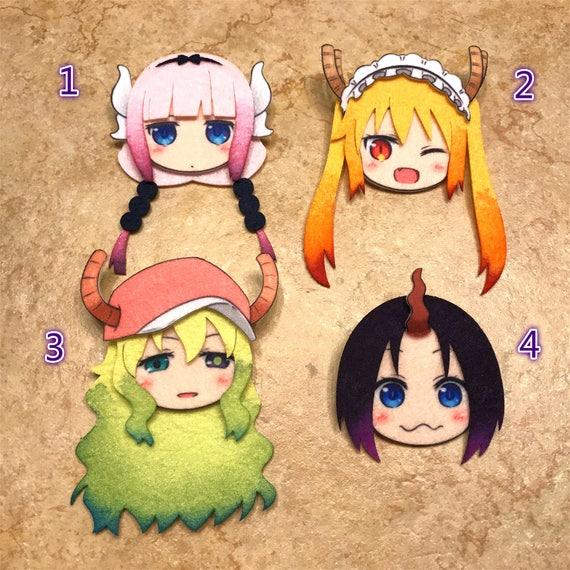 miss kobayashi u0026 39 s dragon maid kanna tohru elma lucoa felt