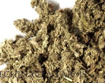 MUGWORT - 4 oz. - ARTEMISIA VULGARIS Dried Cut Herbs Organic Natural Wiccan Potions Botanical