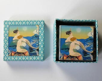 memory game  mermaid  matching game