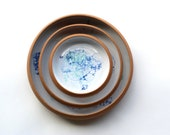 Nesting Dishes * Set of 3 Nesting Plates * Place Setting * Serving Dishes * Tableware * Serveware * Handmade Ceramics * MADE TO ORDER