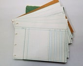 Vintage Boorum & Pease Ledger paper in Box, 25 sheets