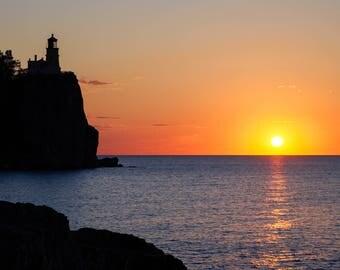 Minnesota Photography, Split Rock Lighthouse, Landscape Nature Photography, Lake Superior, North Shore Art