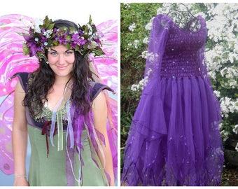 Deluxe  Woman's Fairy Halloween Costume  ~ Renaissance Dress ~ Ballet Concert ~ Dance ~ Theatre