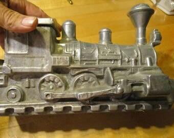 Aluminum train engine locomotive stash box