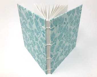 "Sketchbook Journal, 6.5"" x 6.5"" Square, Mixed Media Sketchbook, Travelers Notebook, Watercolor Journal, Guest book, Mix Media Paper, IRENE"