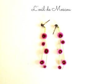 Designer earrings roses in clusters information