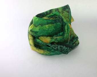 Guérande silk scarf
