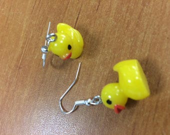 CUTE LITTLE DUCKLINGS EARRINGS