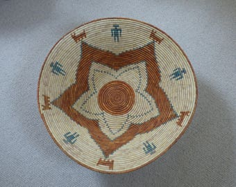 Extra Large Hopi/Navajo Coiled Basket