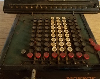 Antique Monroe calculator