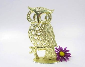 Vintage Torino Owl Earring Holder