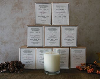 12 bulk candles for resale | wholesale natural candles of coconut soy wax & artisan fragrance in 8 oz jar | appalachian made