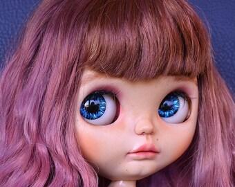 Ooak blythe Mulberry Blythe custom doll by Pomipomari