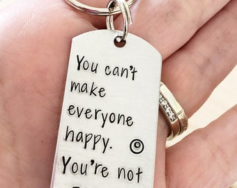 Target - Target shopper - Gift for shopper - Hand stamped - Keychain - Target lover - I love you more than Target - Target store - Fun gift