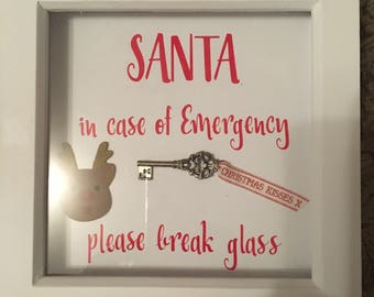 Christmas frame personalised at no extra cost