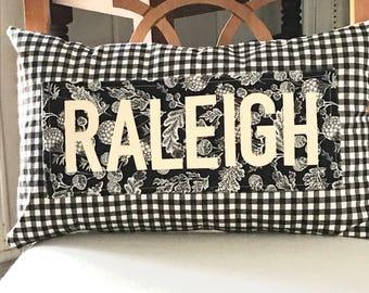 Home town pillow, Housewarming gift, realtor gift, custom pillow