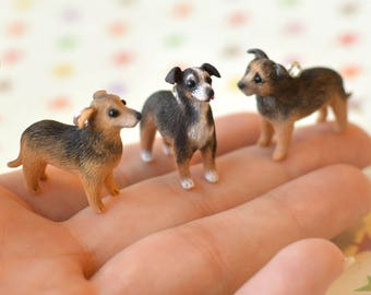 Custom-Made Dog Pendant with Chain - Any dog you want, sculpted by hand from photographs of your pet