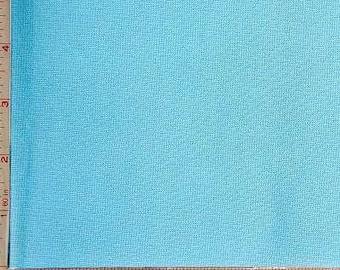 """Light Blue Ponte de Roma Novelty Fabric 2 Way Stretch Polyester 11 Oz 60-62"""" 230610"""