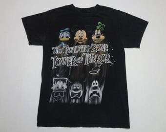 The Twilight Zone Tower of Terror T-Shirt 1990s S